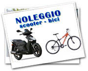 Noleggio Scooter e mountain bike